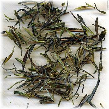 Teeblätter des Tian Mu Qing Ding (Bild von Kolodziej & Lieder)