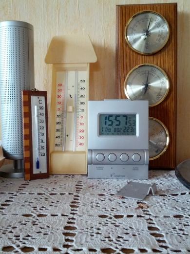 Temperaturvergleich