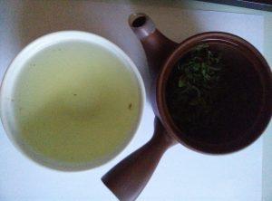 Tee in Schale