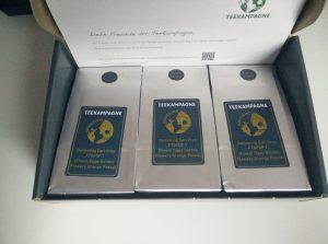 Teeprobenpackungen